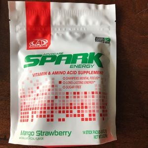 AdvoCare Spark Mango-Strawberry flavor